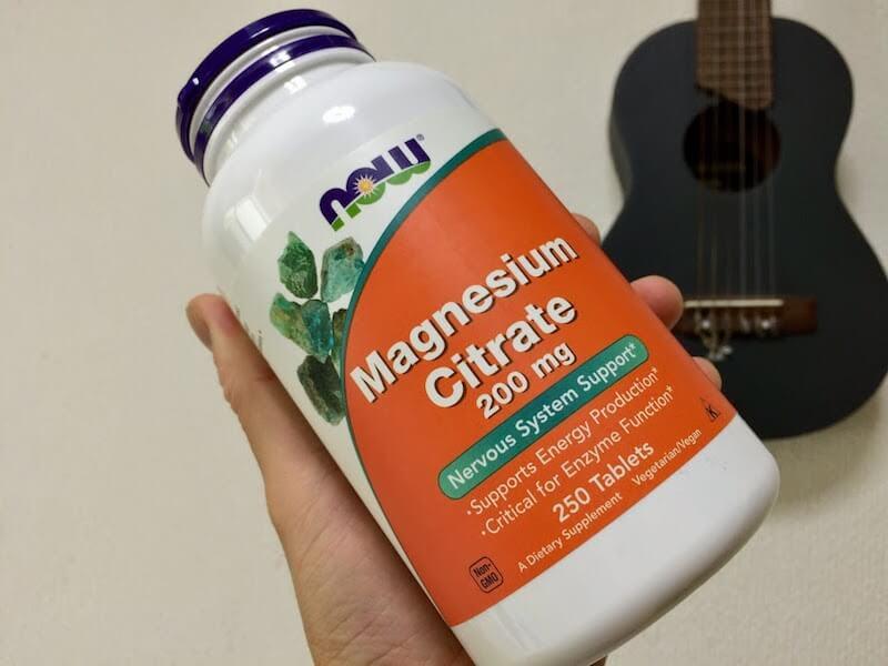 マグネシウムサプリ
